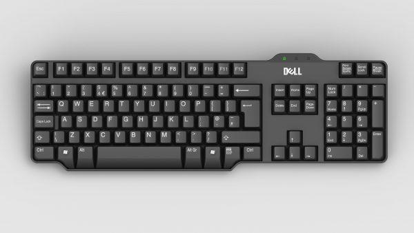 keyboard-dell-3d-model-sldprt-sldasm-slddrw-ige-igs-iges
